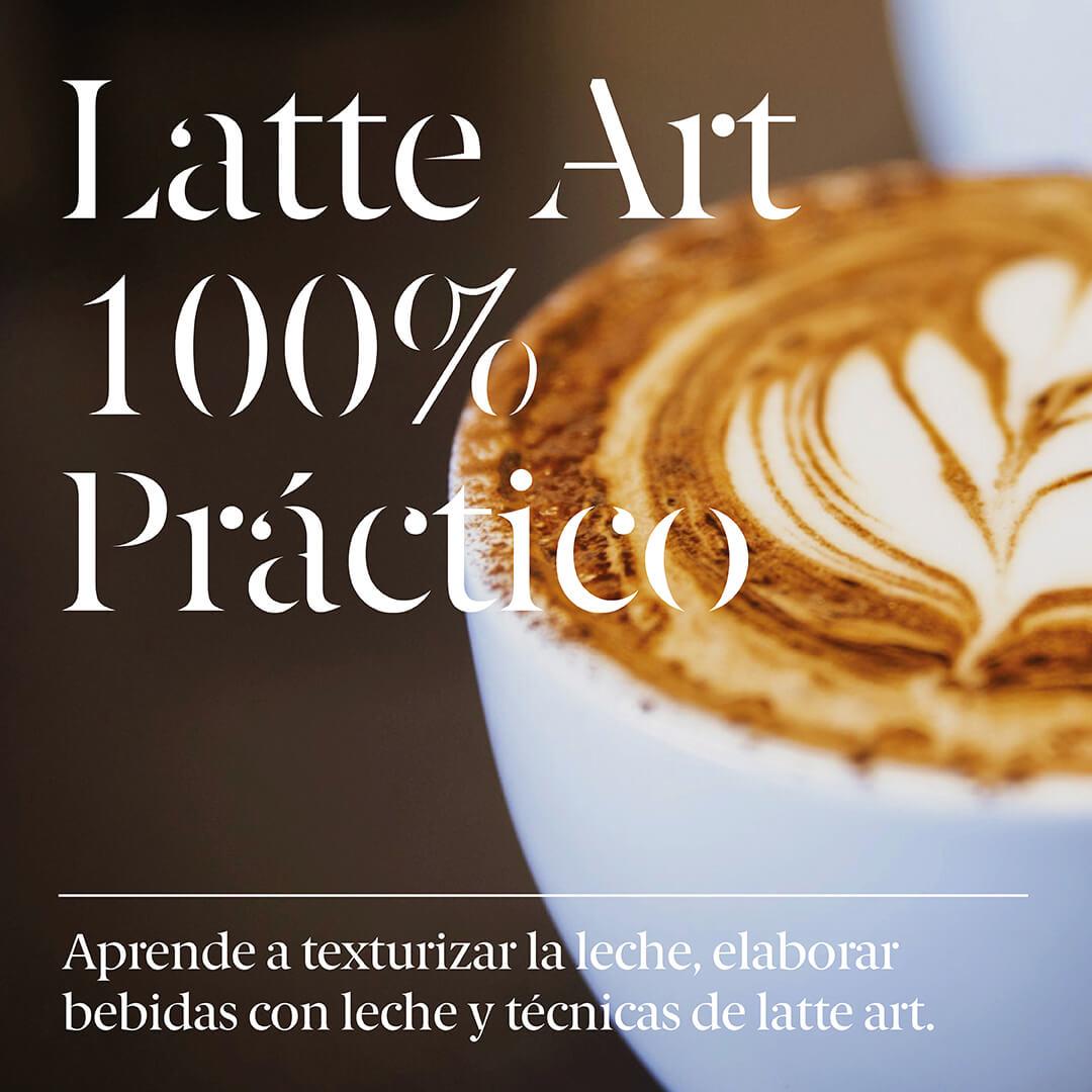Onemore - Curso Latte Art 100% Práctico